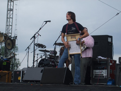 Hill Country Revue's Cody Dickinson on Electric Washboard